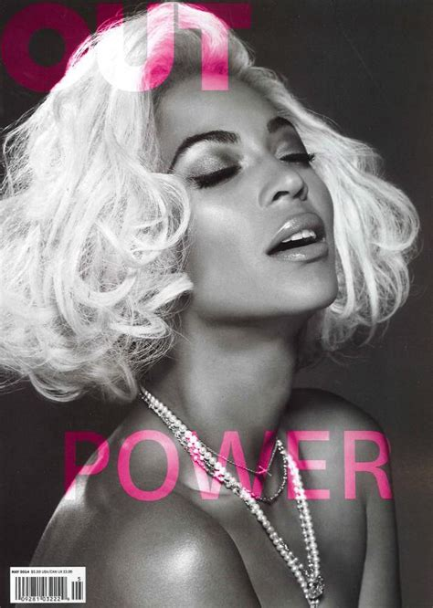 Beyonce On The Cover Of by Beyonc 233 Covers Out Magazine S Power Issue Thisisrnb