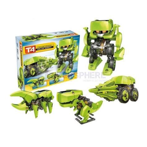 Solar Robot Transformer 3in1 19 99 4 in 1 transformer solar robot t4 tinkersphere