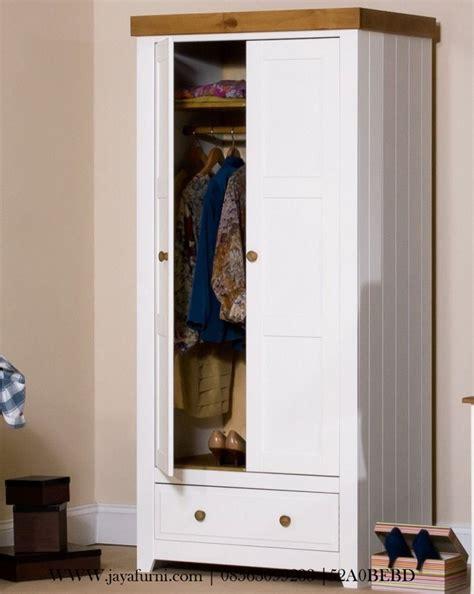 Lemari Pakaian Cat Duco lemari pakaian anak minimalis cat duco putih jayafurni