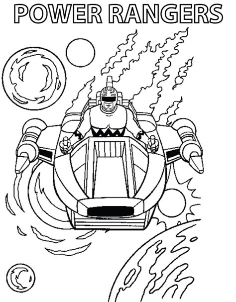 power rangers turbo coloring pages mike the power ranger coloring pages