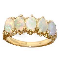 18ct gold aaa fine opal ring 18ct gold rings gold silver rings