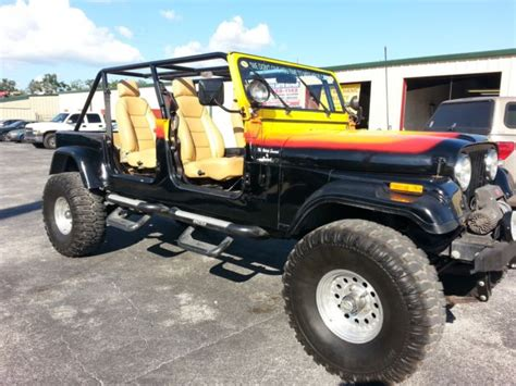 4 7 Jeep Engine For Sale One Of A Jeep Cj7 4x4 With A Corvette Engine For Sale