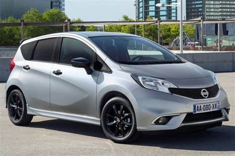 nissan note 2016 the sportier nissan note 2016 black edition unveiled