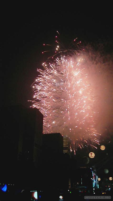 new year fireworks taipei travelogue new years in taipei 2013 2014 jonathan