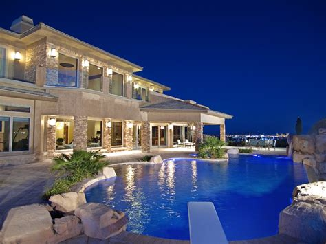 las vegas mansion the ridges luxury homes 31 hawk