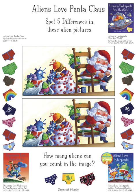 aliens love panta claus aliens love panta claus puzzle scholastic kids club