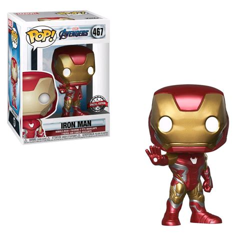 avengers endgame iron man special edition funko pop vinyl