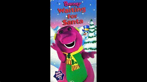 Barney And The Backyard Gang Youtube Barney Waiting For Santa 1990 1993 Vhs Full In Hd