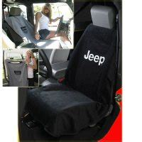 jeep seat towels sa100jepb jeep seat towel with jeep logo black