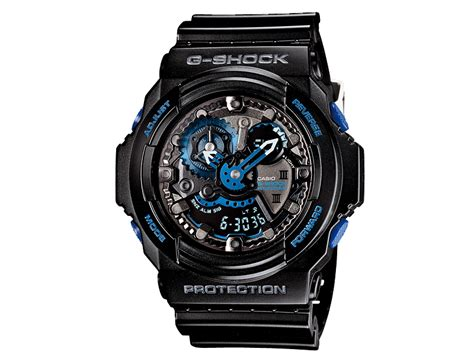 G Shock Blue casio g shock ga 303b 1ajr 30th anniversary vol 2 initial