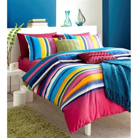 Buy Catherine Lansfield Home Mei Bed Duvet Cover Set Purple From Our Duvet Covers Buy Catherine Lansfield Home Designer Collection Tonal Stripe Bed Duvet Cover Set From