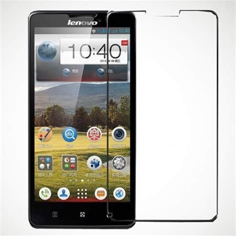 Tempered Glass Lenovo P780 explosion proof real tempered glass screen protector