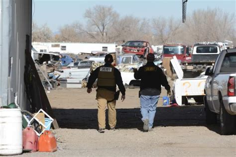 Bernalillo County Sheriff Warrant Search Deputies Seize 21 Stolen Vehicles From Suspected South Valley Chop Shop Albuquerque
