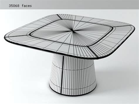 tavolo mammut mammut table modello 3d fasem international