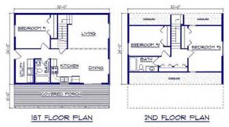 Gambrel House Floor Plans by 24x32 House Plans Total Living Area 1 280 Sq Ft