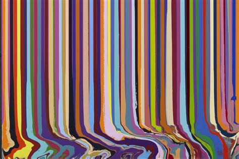 Line Arts ian davenport between the lines at plural gallery