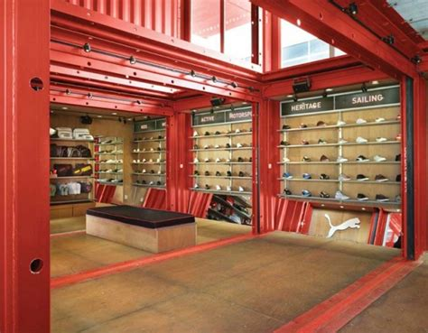 stores like container store puma city shipping container store by lot ek interior