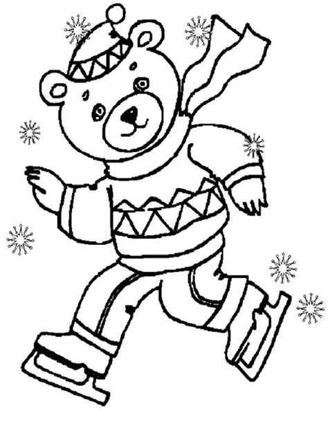 Janice S Daycare Seasons Winter Winter Coloring Pages
