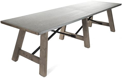 Zinc Top Bar Table Zinc Top Bar Table Zentique Zinc Top Bar Table Zinc Alloy Table Top With Kenya Bar Table Base
