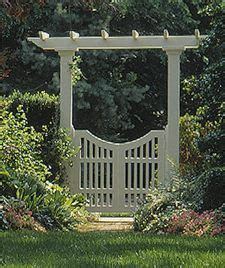 Garden Arbor With Gate White 25 Best Ideas About Arbor Gate On Yard Gates