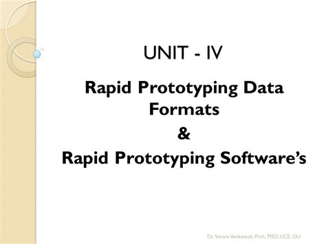 Rapid Prototyping Of Software For Avionics Systems rapid prototyping data formats rapid prototyping software s ppt