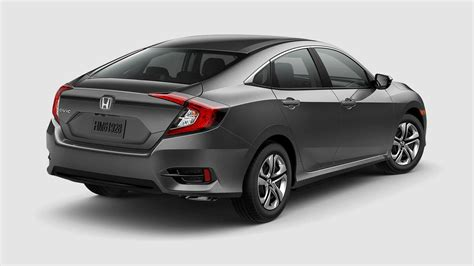 grey honda civic 2017 honda civic sedan color options