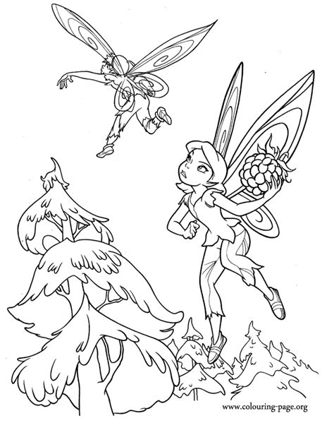 tinkerbell and friends coloring pages to print az