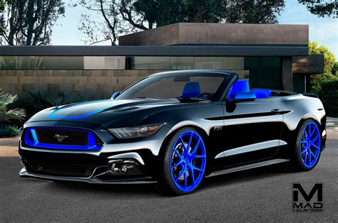 custom mustang pics eight modified 2016 ford mustangs heading to sema motor
