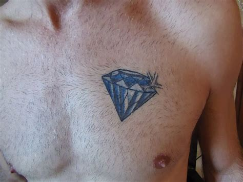 diamond chest tattoo 43 amazing tattoos designs
