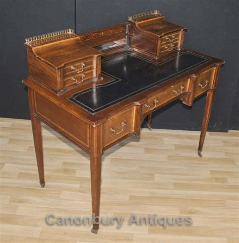 carlton house writing desk antique edwardian carlton house desk writing 1910
