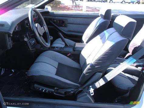 1989 Camaro Interior by 1989 White Chevrolet Camaro Iroc Z Convertible 26068160
