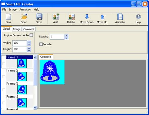 free graphic creator easy gif animator 6 1 animation software graphic