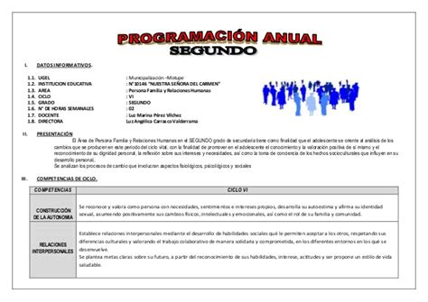 programacion anual unidades de aprendizaje y sesiones de aprendizaje 2016 minedu programacion anual y unidades de 2 176 pfrh