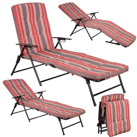 pool chaise cushions n 186 red white stripe folding lounger ᗖ patio patio outdoor