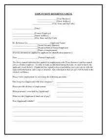 employee reference check template best photos of employment verification questions