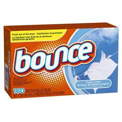 bounce dryer sheets 160 count for 5 27