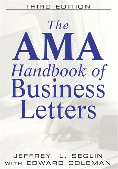 Handbook Of Business Letter Pdf shirley model business letters pdf free