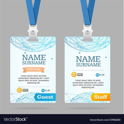 Staff Card Template by Staff Id Card Template Free 187 Free Templates 2018 Free