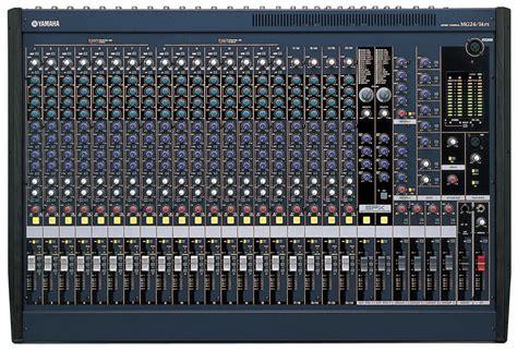Mixer Yamaha Mg24 Xu yamaha mg24 14fx 16 mono mixing console artisticcontrols