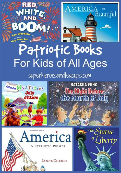 children of our age books patriotic books for of all ages