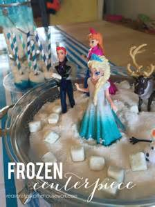 Frozen Centerpieces Frozen Party Reasons To Skip The Housework