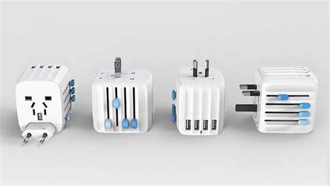 Unique Adapter Universal Travel With Usb Slide Me V2 Baru Charger zendure passport universal travel adapter with 4 usb ports and auto resetting fuse gadgetsin