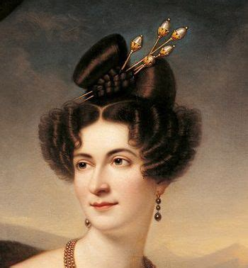 hairstyles from 1830s 1000 images about biedermeier frisuren on pinterest