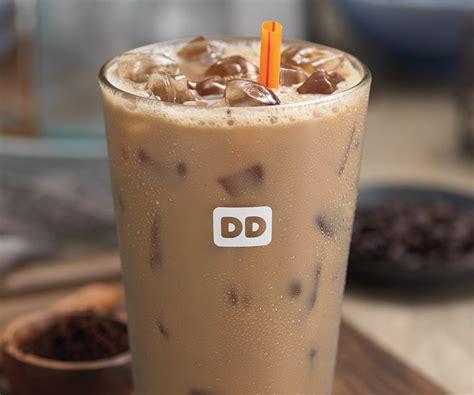 dunkin donuts caramel iced coffee