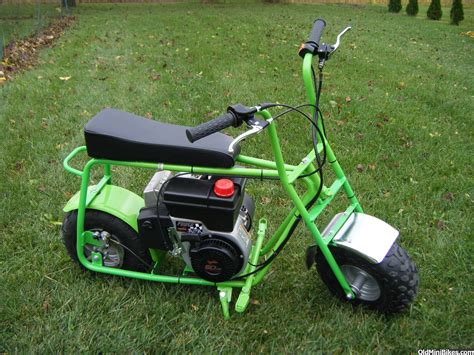 doodle bug mini bike cheap green baja racer