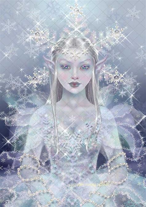 fairytale snow fairy artwork maxine gadd is a published fairy artist