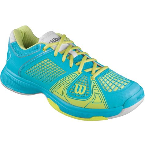 wilson tennis shoes wilson ngx s tennis shoe oceana cybergreen