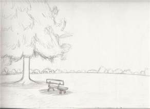 Landscape Pictures Easy To Draw Landscape Sketch 2 By Whimsy Floof On Deviantart