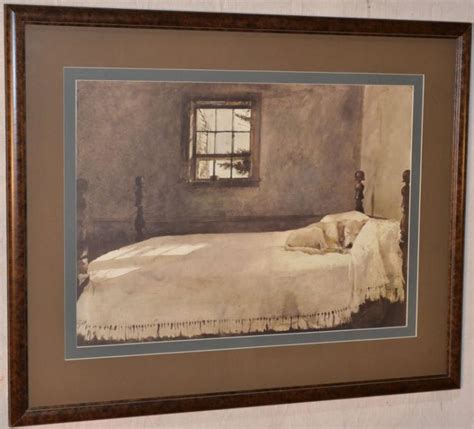 andrew wyeth master bedroom art print for sale canvasprintshere com 34 quot x28 quot h framed print after andrew wyeth quot master bedroom quot