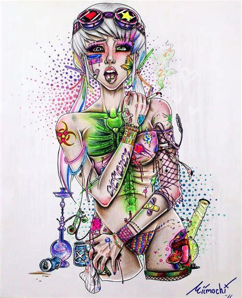griffe tattoo a maconha e suas artes
